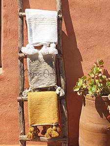 Plaid Marocain à Pompons