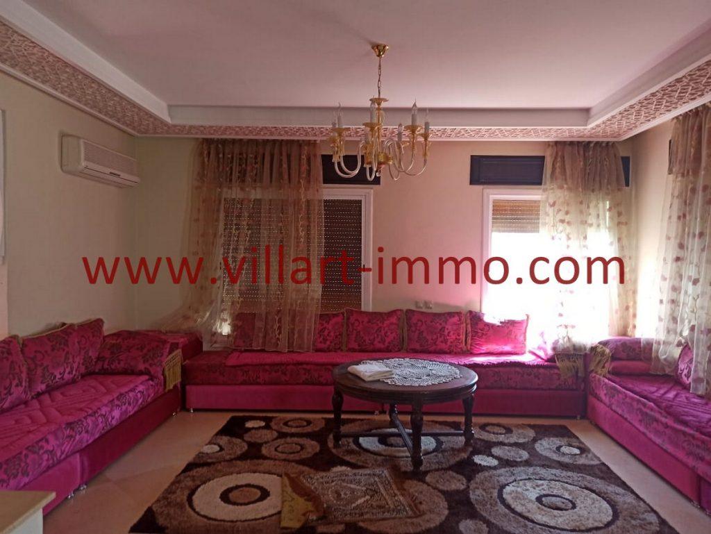 Superbe appartement F3 à louer bien meublé et équipé à boubana Tanger