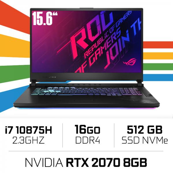 "Asus ROG G512L-HN087 Intel i7-10875H/16GB/512GB SSD/RTX2070/15.6"" 144hz"