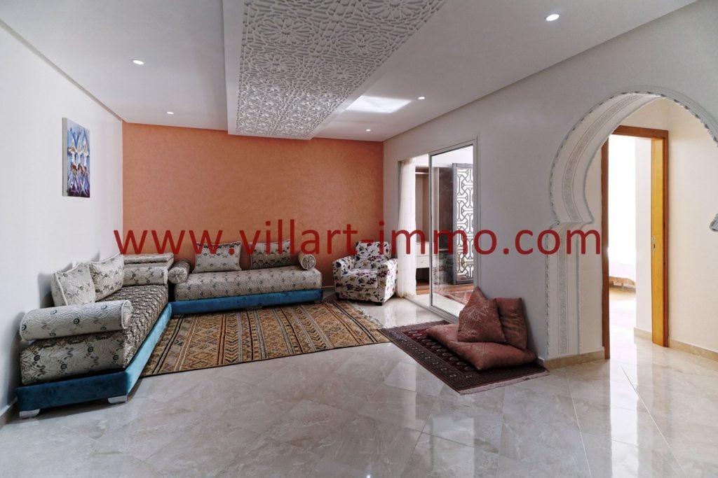 Superbe appartement F3 à louer bien meublé et équipé au centre ville de Tanger