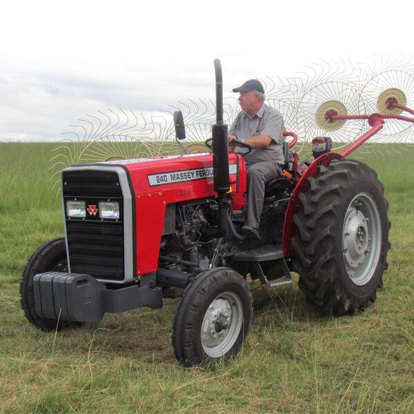 Tracteur MF 240