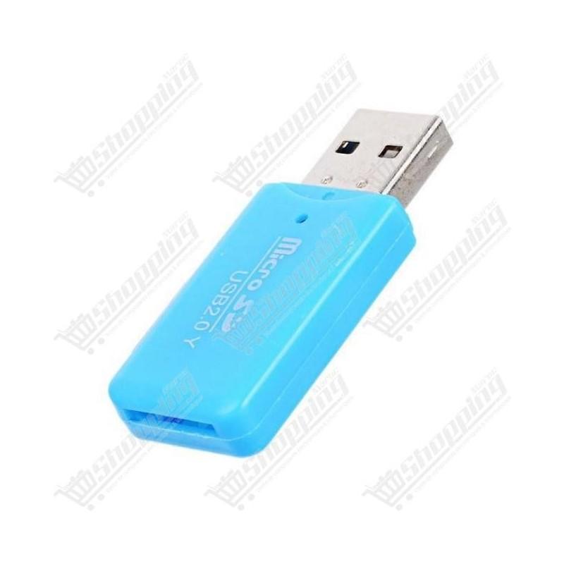 Lecteur De Carte Mémoire Micro SD TF USB 2.0
